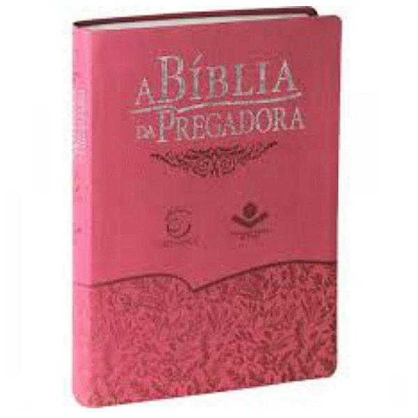 A Bíblia do Pregador / Almeida Revista e Atualizada / Legno goiaba / Editora Esperança / SBB