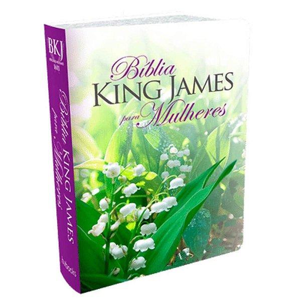 A Bíblia King James para Mulheres – capa florida - BV Books Editora