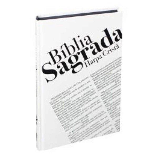 Bíblia Sagrada Harpa Cristã - Capa dura - Impacto - ARC - SBB