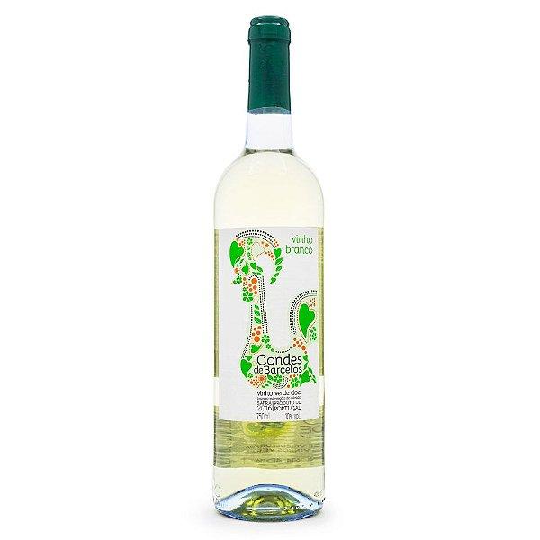 Vinho Conde de Barcelos Branco Vinho Verde DOC 750ml