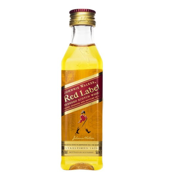 Miniatura Whisky Johnnie Walker Red Label 50ml