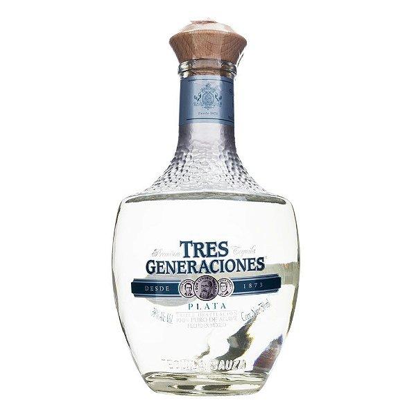 Tequila Tres Generaciones Plata 750ml