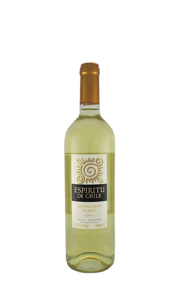 Vinho Espiritu de Chile Branco Sauvignon Blanc 750ml