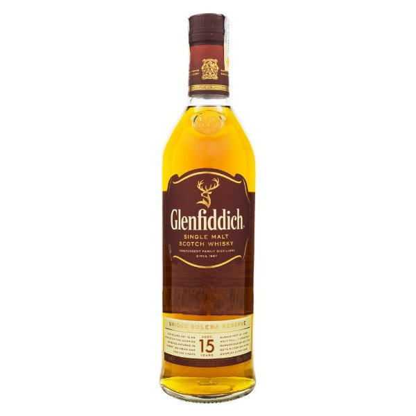 Glenfiddich 15 Anos Single Malt Scotch Whisky 750ml