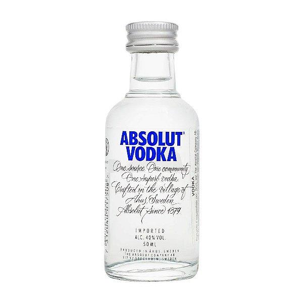 Miniatura Vodka Absolut 50ml
