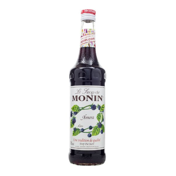 Xarope Monin Amora Blackberry 700ml