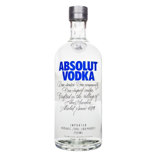 Vodka Absolut Regular 750ml