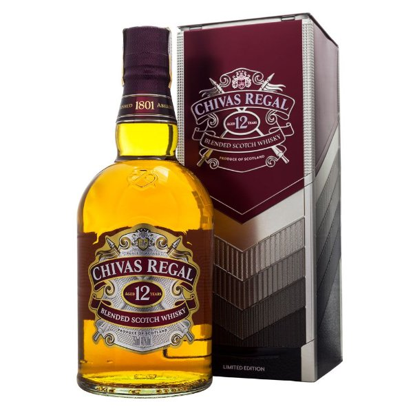 Whisky Chivas Regal 12 anos Ed. Limitada Lata 750ml