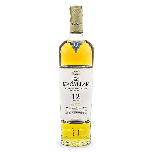 The Macallan Triple Cask 12 Anos Single Malt Scotch Whisky 700ml