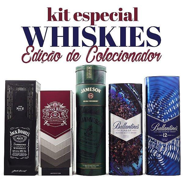 Kit Whiskies Edição de Colecionador