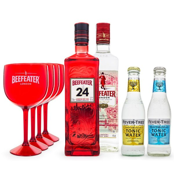 Beefeater London Dry Gin and Tonic Kit