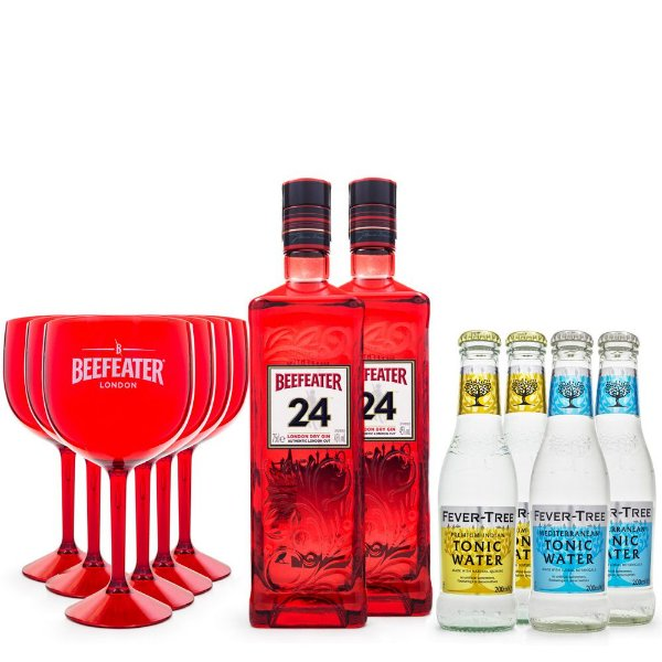 Beefeater 24 London Dry Gin and Tonic Super Kit