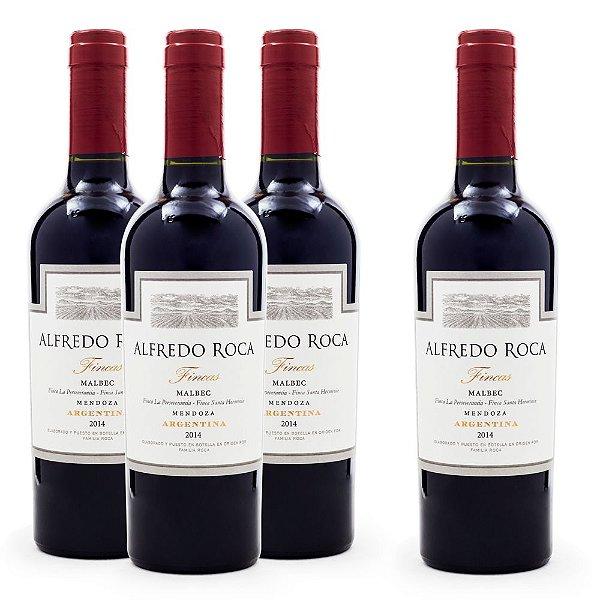 Compre 3 Leve 4 Vinhos Alfredo Roca Fincas Malbec Meia Garrafa 375ml