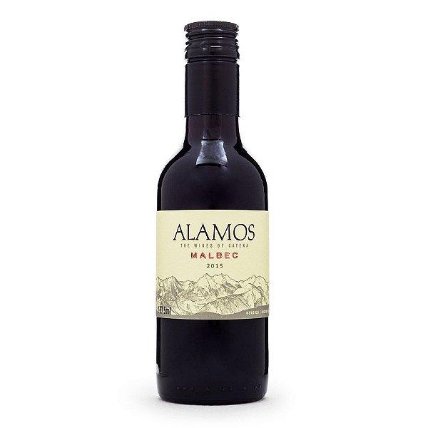 Miniatura Vinho Alamos Malbec 187ml
