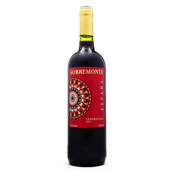 Vinho Sobremonte Tinto Tempranillo 750ml
