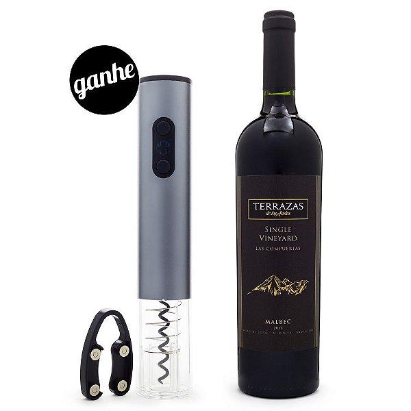 COMPRE Vinho Terrazas de los Andes Single Vineyard GANHE Saca-Rol Automático