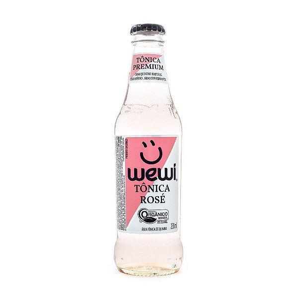 Água Tônica Rosé Orgânica Wewi 255ml