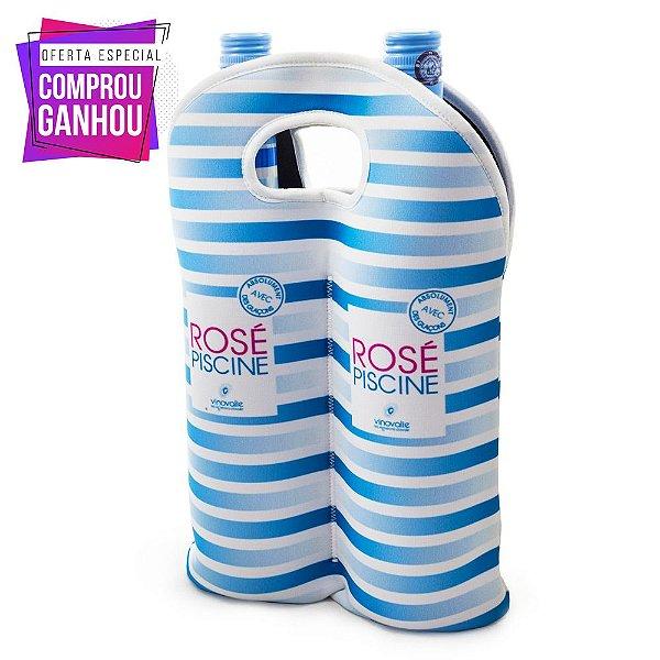Compre 6 Vinhos Rosé Piscine e Ganhe Bolsa Térmica em Neoprene