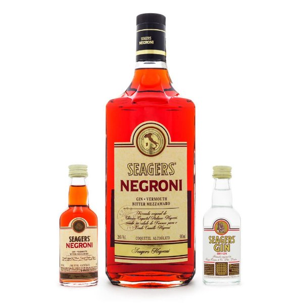 Combo Seagers Negroni + Miniaturas
