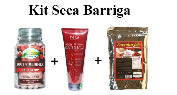 Kit Seca Barriga