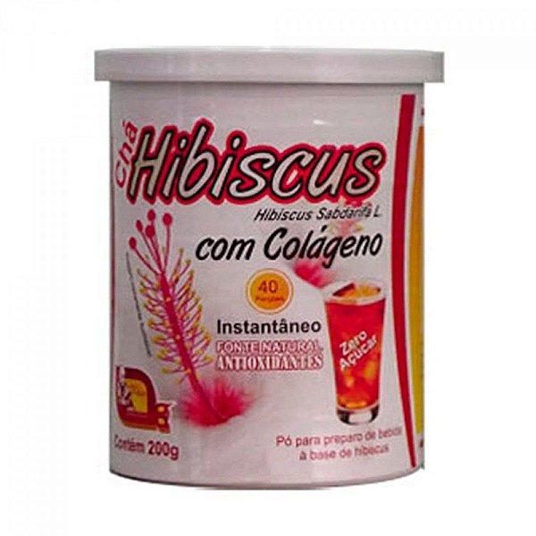 Chá de Hibiscus com colágeno solúvel 200gr