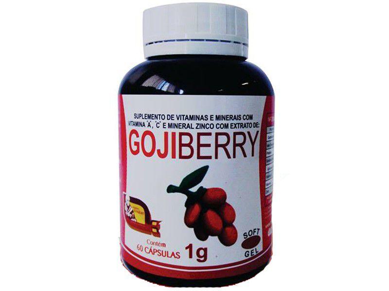 Goji Berry 60 cápsulas - FRETE GRATIS
