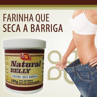 Natural Belly - Farinha seca barriga 250gr.