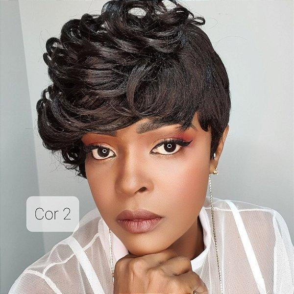 Peruca wig Dandara(Human Hair) varias cores