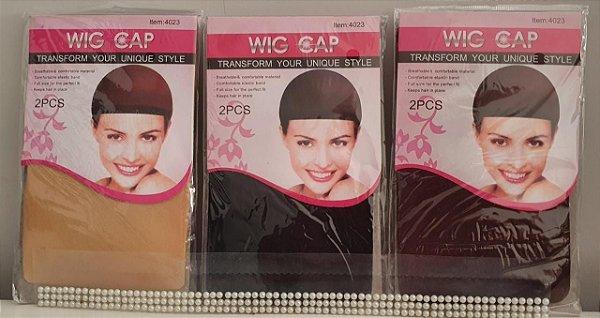 Wig Cap com 2 unidades varias cores