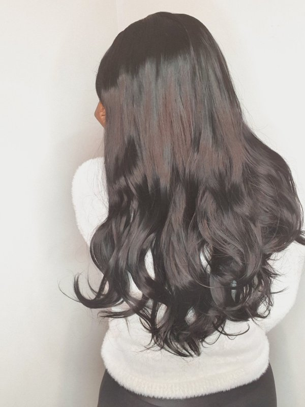 Peruca wholle  wig Tina 1b (fibra futura)