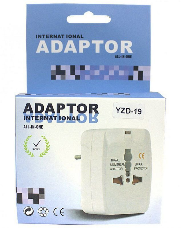 ADAPTADOR INTERNACIONAL ALL-IN-ONE CAIXA