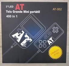 MINI GAME PORTATIL TELA GRANDE 400 IN 1 C/ CONTROLE AT-002