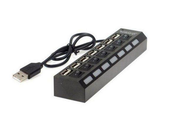 HUB USB 7 PORTAS USB 2.0 SHINKA