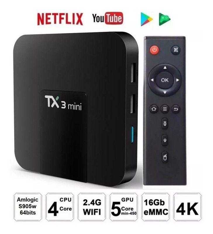 TV BOX TX3 MINI 4K 2GB + 16GB
