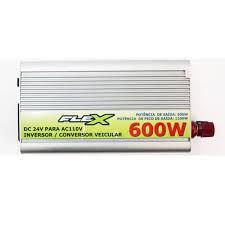 INVERSOR DE TENSAO VEICULAR -MARCA: FLEX MOD:FX-INV.600W/110