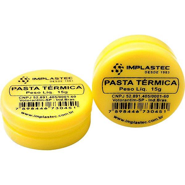 PASTA TERMICA IMPLASTEC POTE C/15G