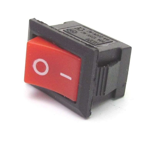 CHAVE ON/OFF 6A-250V 10A-125V