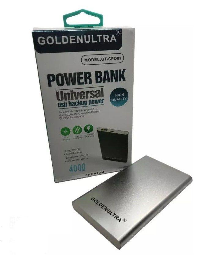 POWER BANK UNIVERSAL 4000 MAH SLIM HIGH QUALITY GOLDEN ULTRA GT-CPO01