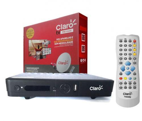 CLARO DECODER TV HD PRÉ-PAGO VISIONTEC
