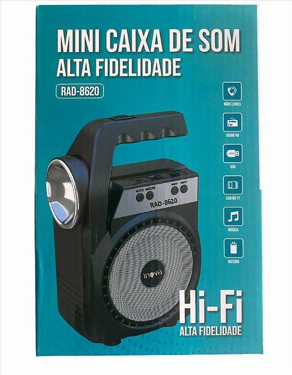 CAIXA DE SOM INOVA RAD-8620