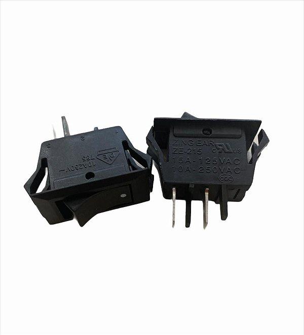 CHAVE GANG LIGA/DESL 15A/125V-10A/250V 2 TERM