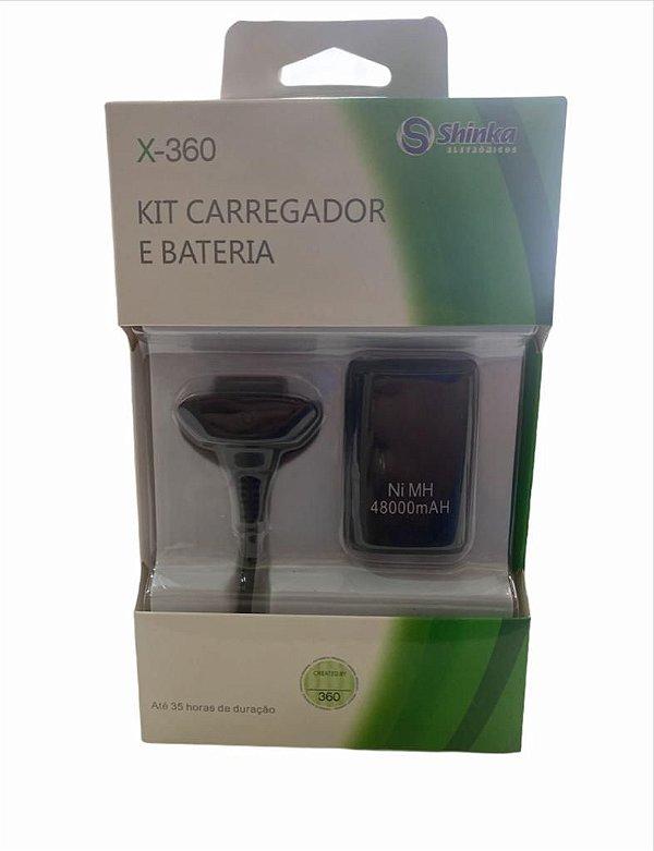 KIT PLAY E CHARGE XBOX 360 SHINKA BT-X3601