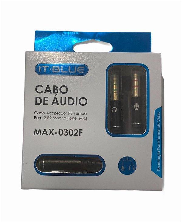 CABO 2 P2 MACHO x P3 FEMEA IT BLUE MAX-0302F