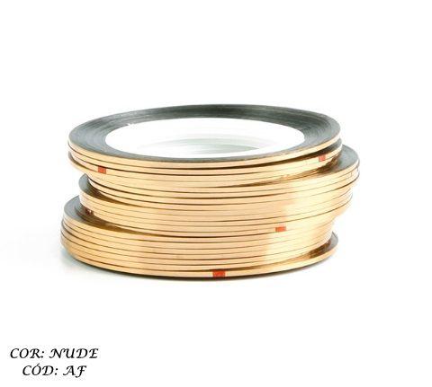Fio de ouro para decoração de unhas