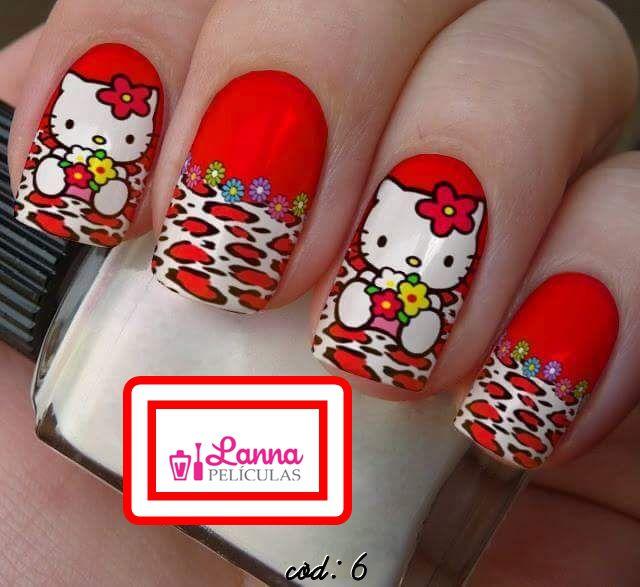 Películas de unha-  Hello Kitty Floral