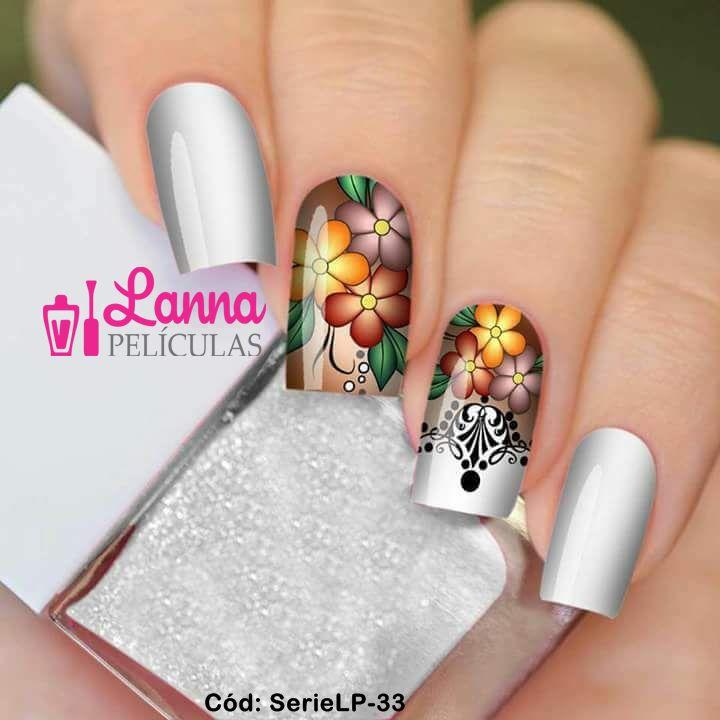 Películas de unha (SerieLP) -  Floral