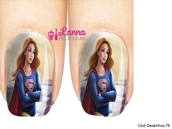Películas de unha- Modelo Supergirl
