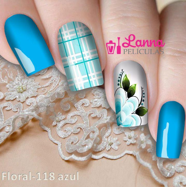 Películas de unha- Modelo Flor  Xadrez