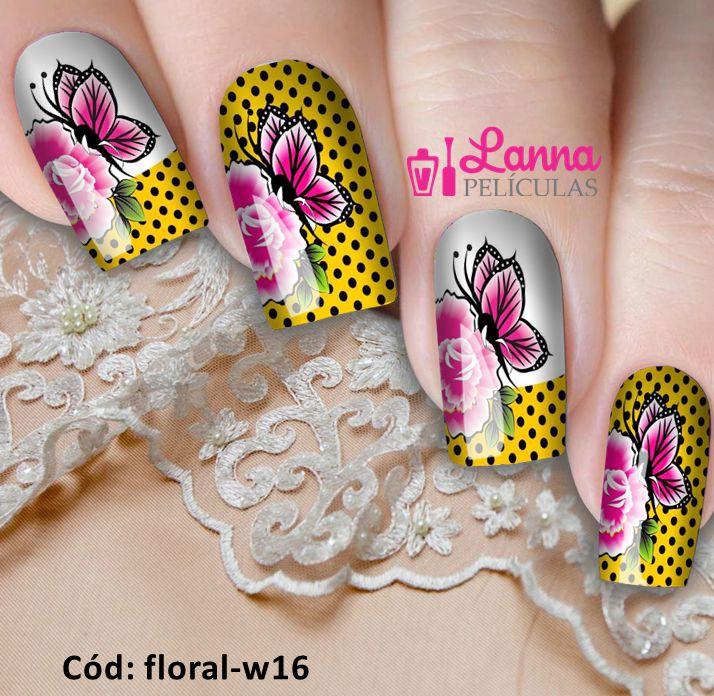 Películas de unha- Poá Floral