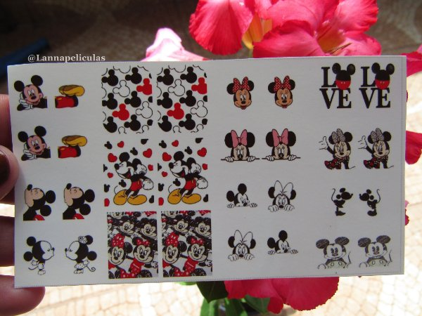 mini Cartelão Películas - Mickey e Minnie